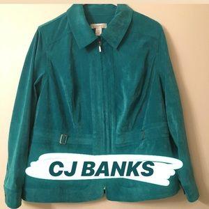 Soft Teal Jacket by CJ Banks - 1X